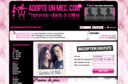 Site Rencontre Adopteunmec.com